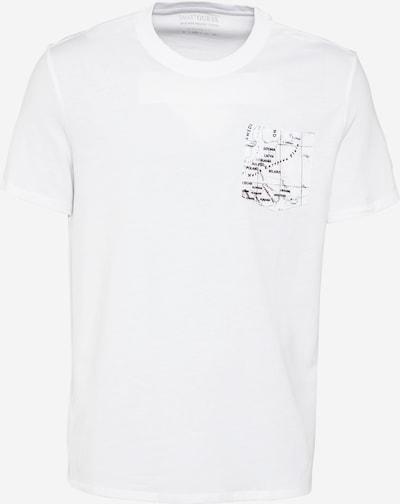 Tricou 'ATLANTIDE' GUESS pe negru / alb, Vizualizare produs