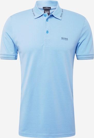 BOSS ATHLEISURE Тениска 'Paule' в нейви синьо / светлосиньо, Преглед на продукта