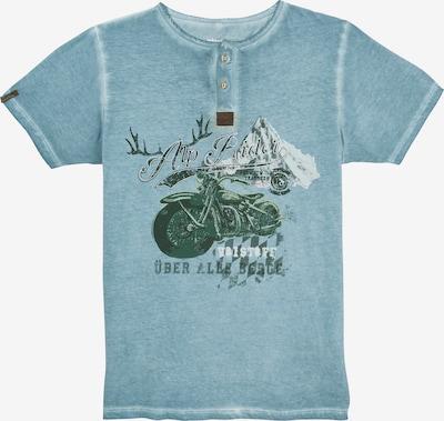 MARJO Trachtenshirt in blau, Produktansicht