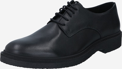 SELECTED HOMME Lace-up shoe 'LUKE' in Black: Frontal view