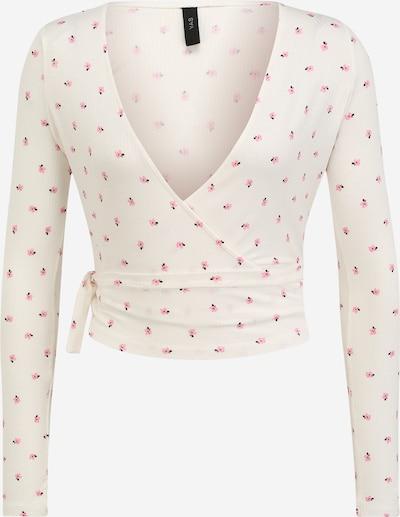 Y.A.S (Petite) T-shirt 'HANNAH' en rose / noir / blanc, Vue avec produit