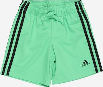 Pantalon de sport ADIDAS PERFORMANCE en vert