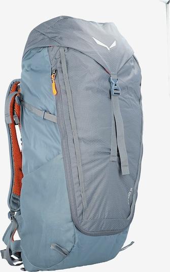 SALEWA Sports Backpack in Light blue / Grey, Item view