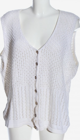 HESSNATUR Vest in XXL in White