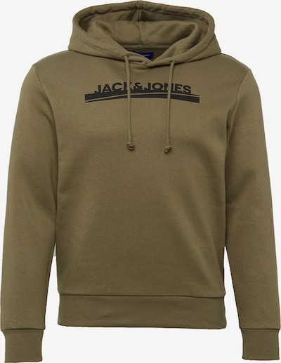 JACK & JONES Sweater majica 'HARRY' u mornarsko plava / maslinasta / bijela, Pregled proizvoda