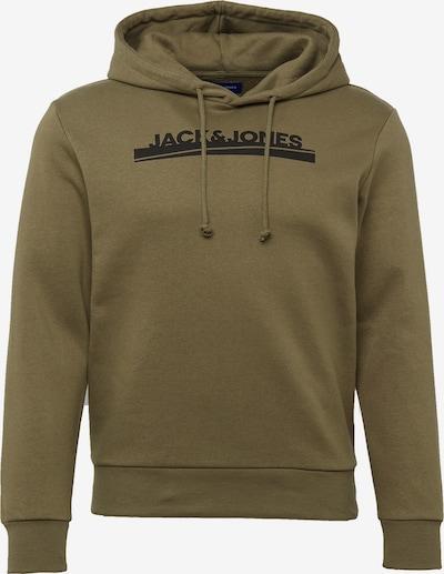 Megztinis be užsegimo 'HARRY' iš JACK & JONES , spalva - tamsiai mėlyna / alyvuogių spalva / balta, Prekių apžvalga
