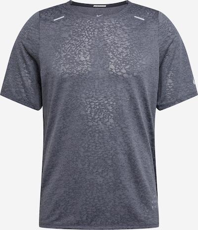 NIKE Sport-Shirt 'Rise 365 Run Division' in dunkelgrau, Produktansicht