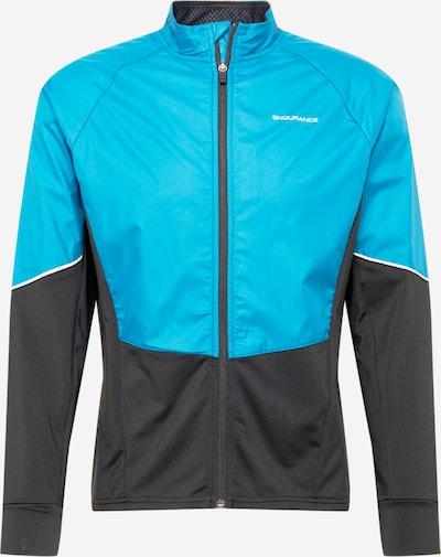 ENDURANCE Sportjas 'Jive M' in de kleur Hemelsblauw / Donkerblauw, Productweergave