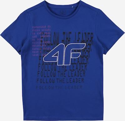 4F Sportshirt in dunkelblau / schwarz / weiß, Produktansicht