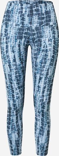 Pantaloni sport Onzie pe albastru / bleumarin / albastru deschis, Vizualizare produs