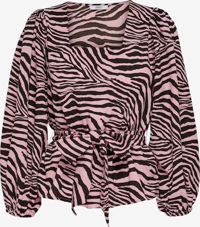 ONLY Bluse 'JENNI' in pink / schwarz, Produktansicht