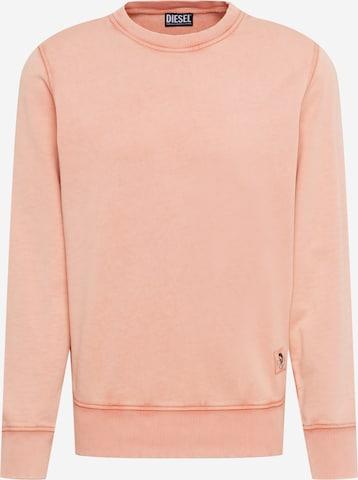 DIESEL Sweatshirt 'GIRK' in Orange