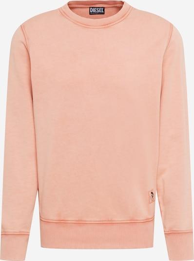 DIESEL Sweatshirt 'GIRK' in lachs, Produktansicht