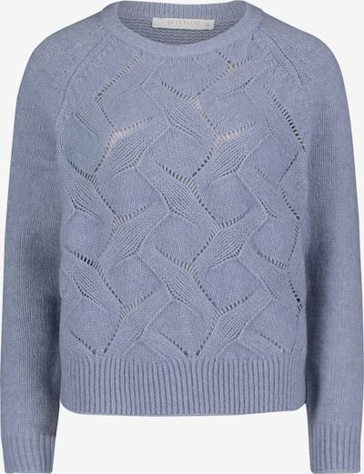 Betty & Co Grobstrick-Pullover mit Struktur in blau, Produktansicht