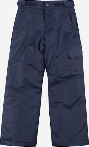 COLUMBIA Vabaajapüksid 'Ice Slope II', värv sinine