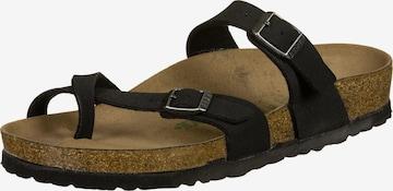 BIRKENSTOCK T-Bar Sandals 'Mayari' in Black