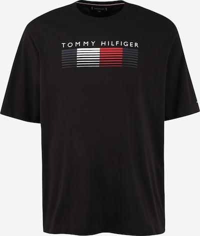 Tricou Tommy Hilfiger Big & Tall pe gri / gri închis / roșu deschis / negru, Vizualizare produs