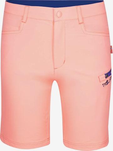 TROLLKIDS Outdoorhose 'HAUGESUND' in Pink