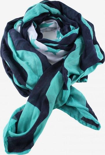 STREET ONE Schultertuch in One Size in blau / türkis / weiß, Produktansicht