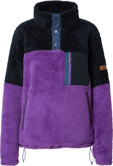 ROXY Sportsweatshirt 'ALABAMA' in lila / schwarz, Produktansicht