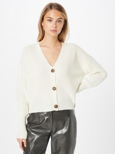VERO MODA Knit Cardigan 'LEA' in White, View model