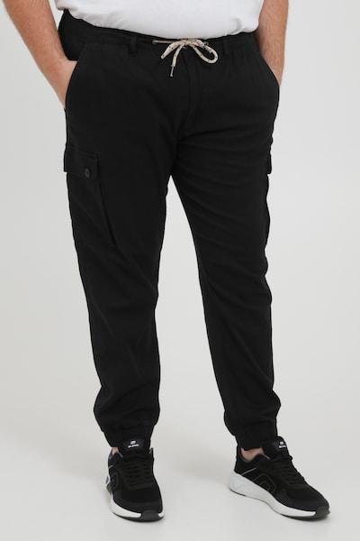 BLEND Cargohose in schwarz, Modelansicht