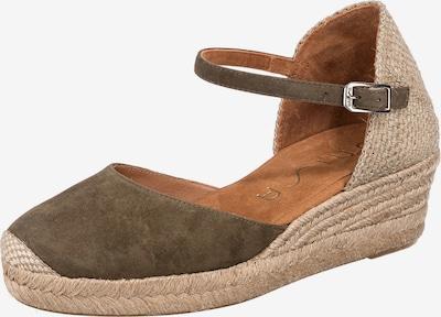 UNISA Sandale 'Cisca' in beige / khaki, Produktansicht