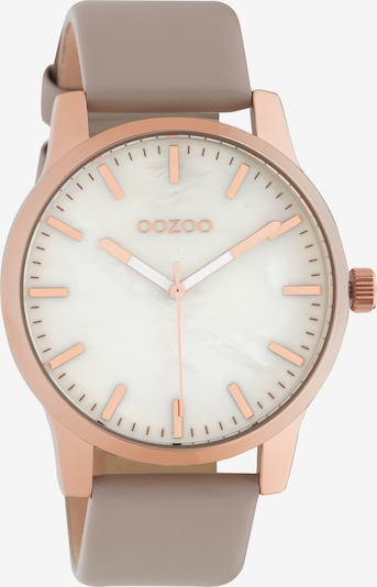 OOZOO Uhr in grau / rosé / weiß, Produktansicht