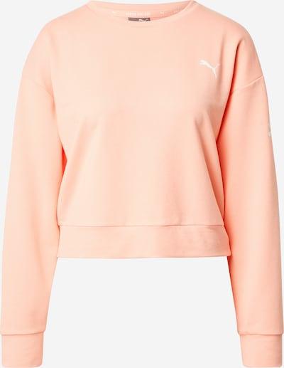 PUMA Sportsweatshirt 'Modern Sports' in apricot / weiß, Produktansicht