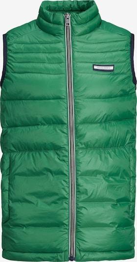 Jack & Jones Junior Bodywarmer 'Ace' in de kleur Groen, Productweergave