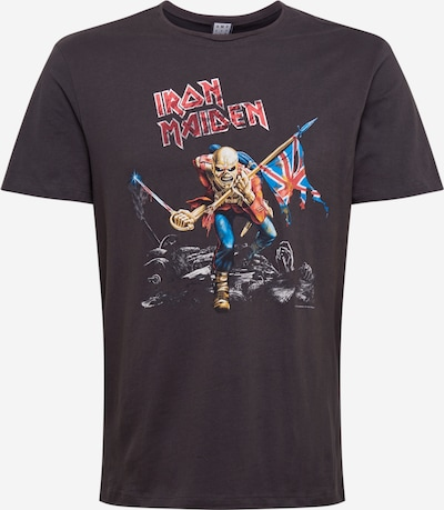 AMPLIFIED Shirt 'Iron Maiden 80s Tour' in dark grey / mixed colours, Item view