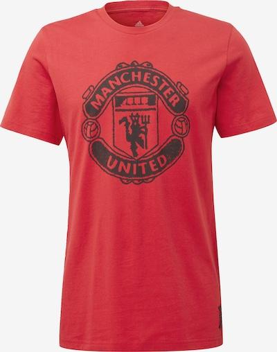 ADIDAS PERFORMANCE Functioneel shirt 'Manchester United' in de kleur Rood: Vooraanzicht