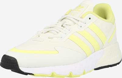 Sportbačiai be auliuko 'ZX 1K' iš ADIDAS ORIGINALS, spalva – šviesiai geltona / balta, Prekių apžvalga