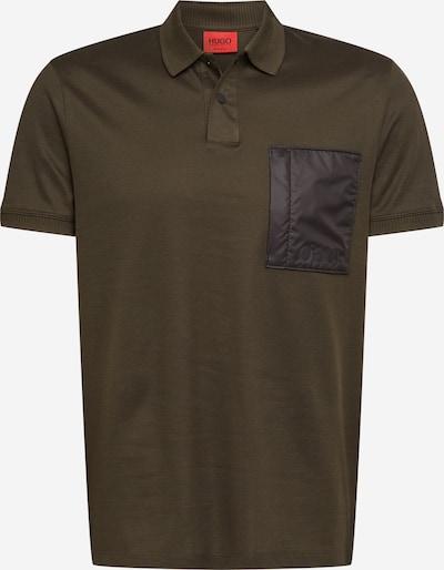 khaki / fekete HUGO Póló 'Dioga', Termék nézet