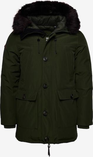 Superdry Winterparka in de kleur Groen, Productweergave