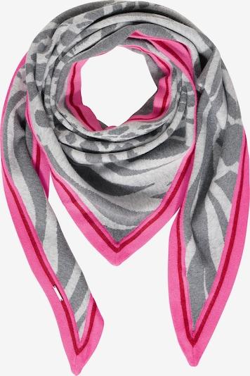 STREET ONE Halstuch in grau / pink, Produktansicht