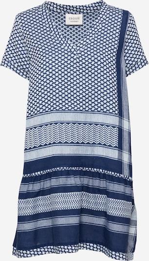 Cecilie Copenhagen Kleid in hellblau / taupe, Produktansicht
