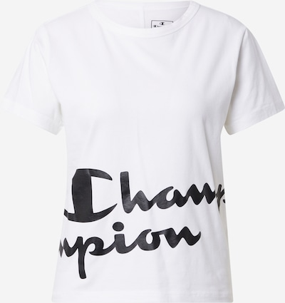 Champion Authentic Athletic Apparel Funktionstopp i svart / vit, Produktvy
