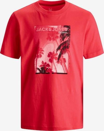 Jack & Jones Junior Jungs Fotoprint T-Shirt in rot, Produktansicht