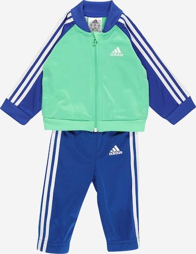 ADIDAS PERFORMANCE Trainingspak in de kleur Royal blue/koningsblauw / Jade groen / Wit, Productweergave