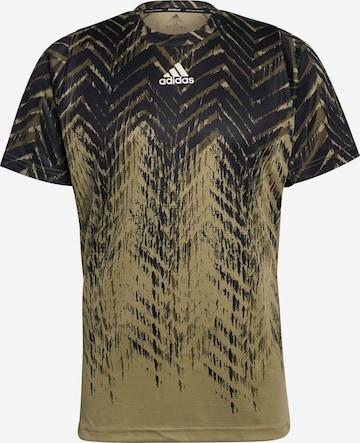 ADIDAS PERFORMANCE Shirt in Braun