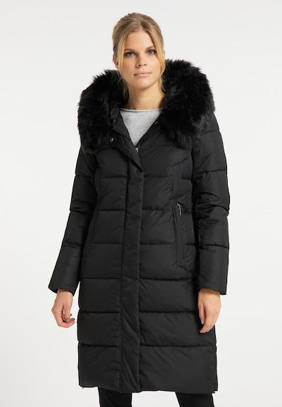 usha WHITE LABEL Wintermantel in schwarz, Modelansicht