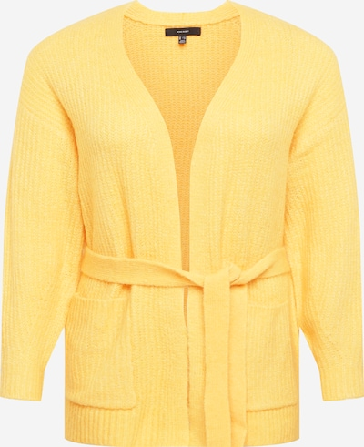 Vero Moda Curve Knit cardigan 'JULIE' in Yellow, Item view