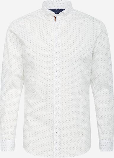 JACK & JONES Košile 'Thomas' - kouřově modrá / bílá, Produkt