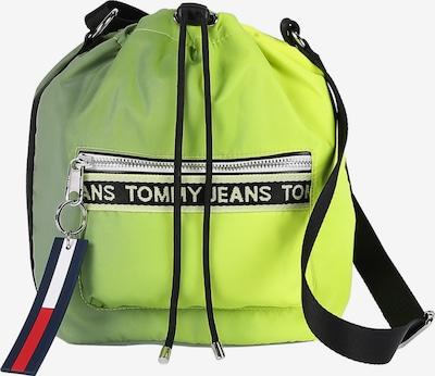 Tommy Jeans TJ-Beuteltasche in dunkelblau / neongelb / rot / schwarz / weiß, Produktansicht