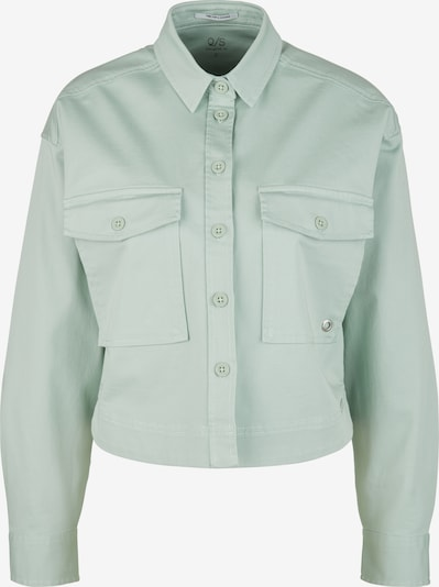 Q/S by s.Oliver Cropped-Hemdbluse aus Twill in mint, Produktansicht