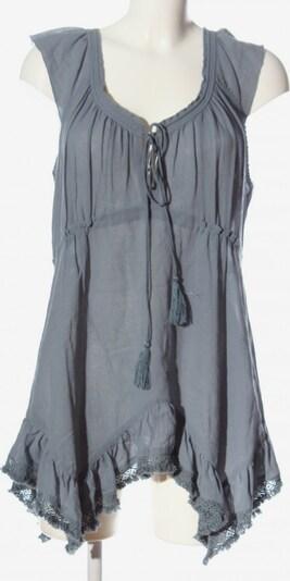 Wrap Minikleid in M in hellgrau, Produktansicht