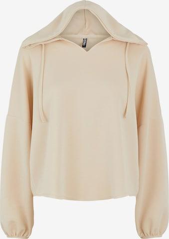 PIECES Sweatshirt 'Rise' in White