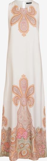 Ana Alcazar Robe en beige / blanc, Vue avec produit