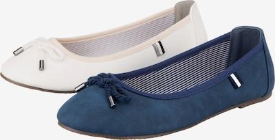 ambellis Schuh in dunkelblau / weiß, Produktansicht